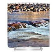 0331 Oak Creek Shower Curtain by Steve Sturgill