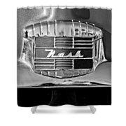 1951 Nash Emblem Shower Curtain by Jill Reger