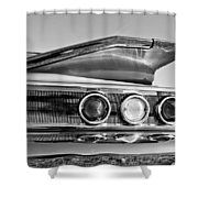1960 Chevrolet Impala Resto Rod Taillight Shower Curtain by Jill Reger