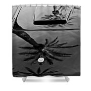 1963 Apollo Hood Shower Curtain by Jill Reger