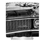 1969 Cadillac Eldorado Grille Shower Curtain by Jill Reger