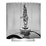 2012 Santarsiero Atlantis Concept Hood Ornament Shower Curtain by Jill Reger