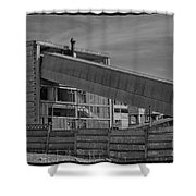 Abandoned Factory At Vadu Shower Curtain by Gabriela Insuratelu