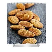 Almonds Shower Curtain by Elena Elisseeva
