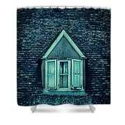 Attic Window Shower Curtain by Jill Battaglia