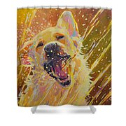 August Shower Curtain by Kimberly Santini