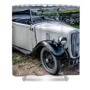 Austin 7 Shower Curtain by Adrian Evans