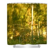 Autumn Reflections In Tennessee Shower Curtain by Dan Sproul