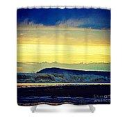 Bass Coast Shower Curtain by Blair Stuart