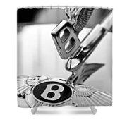 Bentley Hood Ornament Shower Curtain by Jill Reger