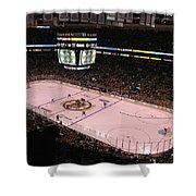 Boston Bruins Shower Curtain by Juergen Roth