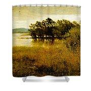 Chill October Shower Curtain by John Everett Millais