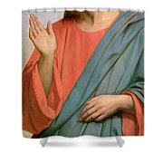 Christ Weeping Over Jerusalem Shower Curtain by Ary Scheffer