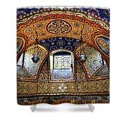 Church Interior Shower Curtain by Elena Elisseeva