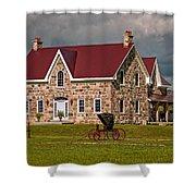 Country Living Shower Curtain by Steve Harrington
