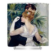 Dance In The City Shower Curtain by Pierre-Auguste Renoir