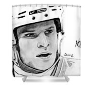 Defence On Offence Shower Curtain by Kayleigh Semeniuk