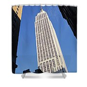 Empire State Building Shower Curtain by Jon Neidert