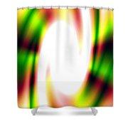 Flash Shower Curtain by Christopher Gaston