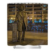Frederick Douglass Shower Curtain by Theodore Jones