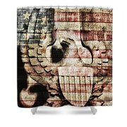 Freedom Shower Curtain by Todd and candice Dailey
