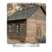 Frutia Schoolhouse Capitol Reef National Park Utah Shower Curtain by Jason O Watson