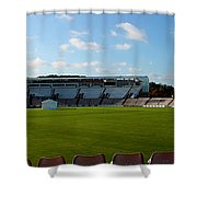 Hampshire County Cricket Ground Shower Curtain by Terri  Waters