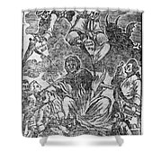 Intolerable Acts 1774 Shower Curtain by Granger