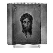 Jesus Christus Shower Curtain by Edward Fielding