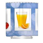 Juices Shower Curtain by Elena Elisseeva