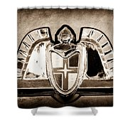 Lincoln Emblem Shower Curtain by Jill Reger