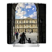 Louvre Shower Curtain by Elena Elisseeva