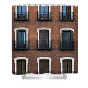 Madrid Shower Curtain by Frank Tschakert