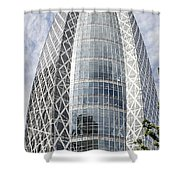 Mode Gakuen Cocoon Tower Shower Curtain by For Ninety One Days