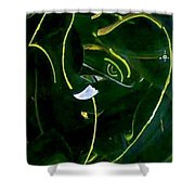 Modern Ganesha Shower Curtain by Poornima Ravi