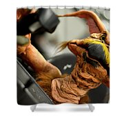 Monster Salacious Crumbes Shower Curtain by Toppart Sweden