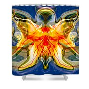 My Angel Shower Curtain by Omaste Witkowski