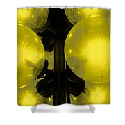 Night Light Shower Curtain by Toppart Sweden