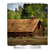 Old Barn Shower Curtain by Robert Bales