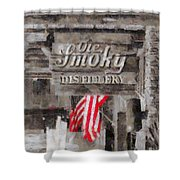 Ole Smoky Distillery Shower Curtain by Dan Sproul