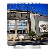 Philadelphia Eagles - Lincoln Financial Field Shower Curtain by Frank Romeo