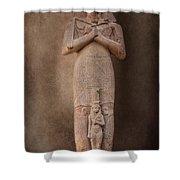 Ramses II Shower Curtain by Erik Brede