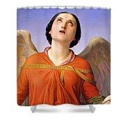 Sacred Music Shower Curtain by Luigi Mussini
