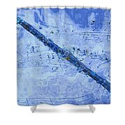See The Sound 2 Shower Curtain by Jack Zulli