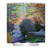 September Reverie Shower Curtain by Alys Caviness-Gober