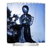 Shadows From Heaven Shower Curtain by Sharon Cummings