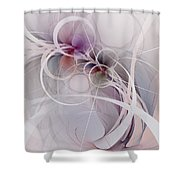 Sleight Of Hand Shower Curtain by NirvanaBlues