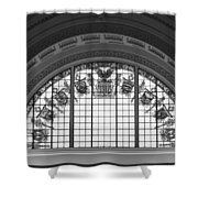 Stained Glass - Library Of Congress Shower Curtain by Mountain Dreams