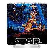Star Wars Shower Curtain by Farhad Tamim