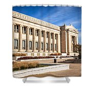 The Field Museum In Chicago Shower Curtain by Paul Velgos